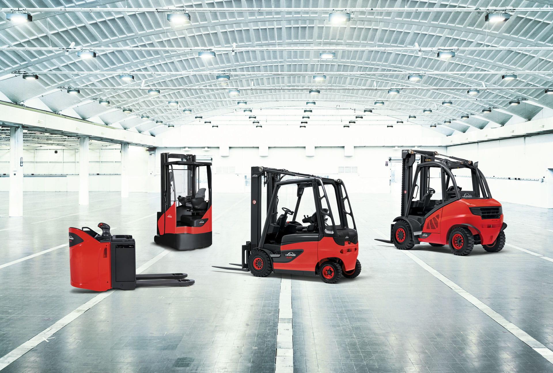 Nc Nielsen >> Linde trucks - kvalitet gaffeltrucks med stor driftsikkerhed