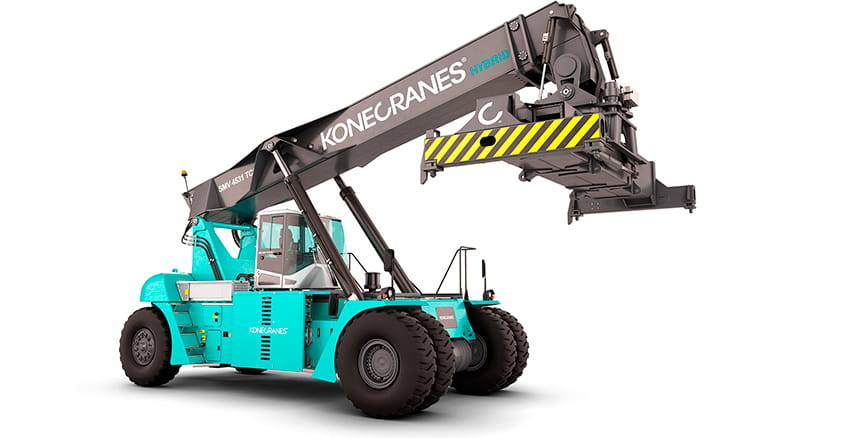Konecranes reachstacker